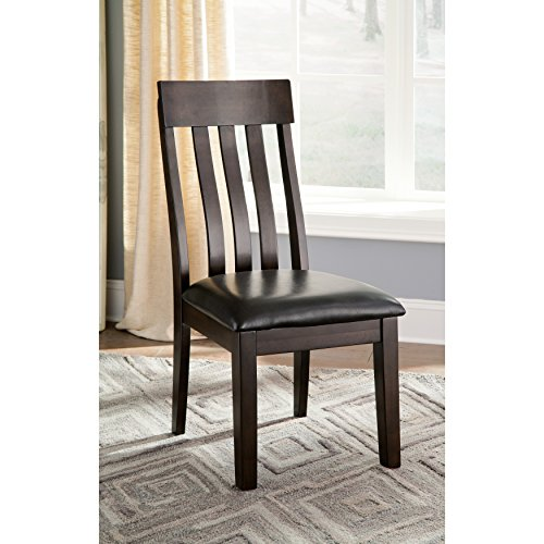 Modern Signature Design By Ashley Haddigan Dark Brown Side Chairs (Set of 2) in Brown