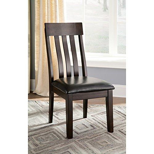 Modern Signature Design By Ashley Haddigan Dark Brown Side Chairs (Set of 2) in Brown
