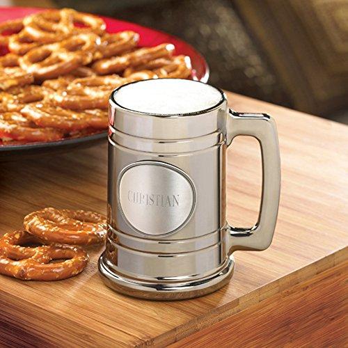 Personalized JDS Gifts Metallic Mug with Pewter Medallion (16 oz) ()