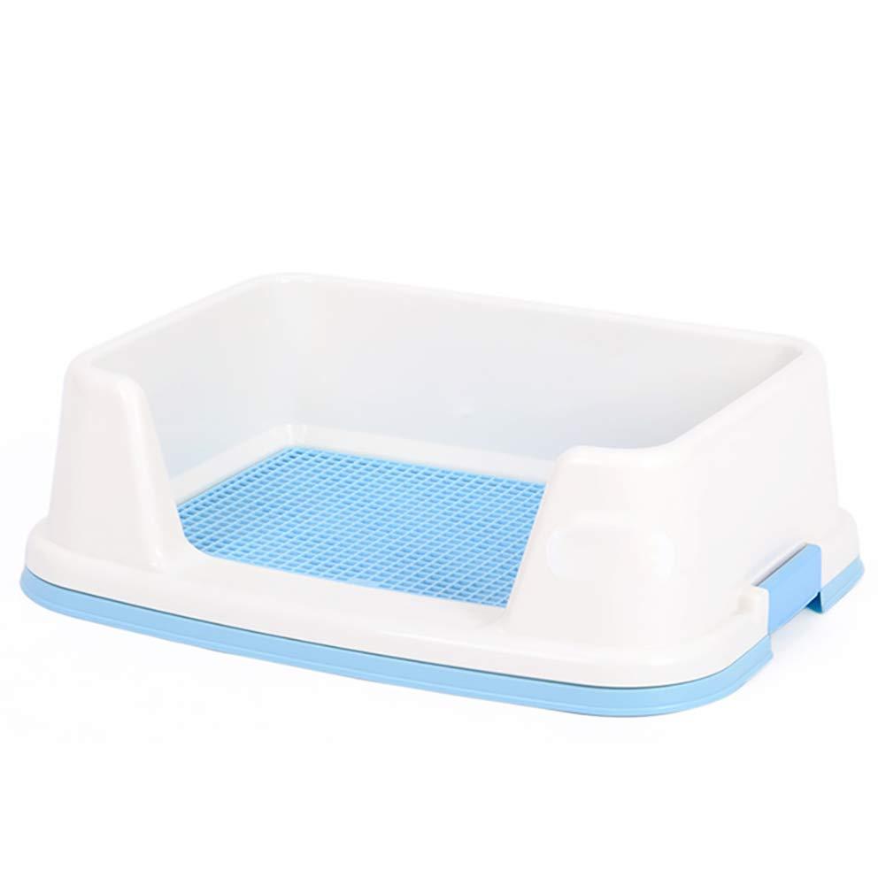 犬用トイレ用品、ペット用品Grid 51*39cm Potty、子犬用猫ペットトレーニングマットPotty、清掃が簡単で衛生的、無菌、無味、防錆、カラーはオプション Dog B07NQ5TMVV 51*39cm|blue blue