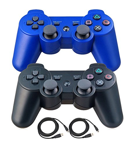 Pofona Bluetooth Wireless Controller For PS3 Double Shock -