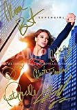 Large Supergirl TV Show Print Melissa Benoist, Chyler Leigh, Calista Flockhart, Peter Facinelli (11.7