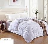 BEIZLSS Modern minimalist style solid color, 100% cotton duvet cover-O 135x200cm(53x79cm)