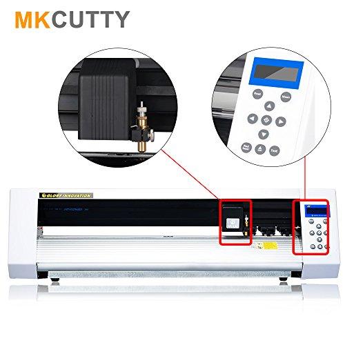 Mkcutty 27 Vinyl Cutter Sign Cutting Plotter Machine With