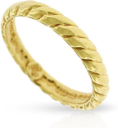 Size 7 14k Italian Yellow Gold Star Ring