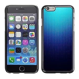 SKCASE Center / Funda Carcasa - Modelo azul de malla - Apple Iphone 6 Plus 5.5