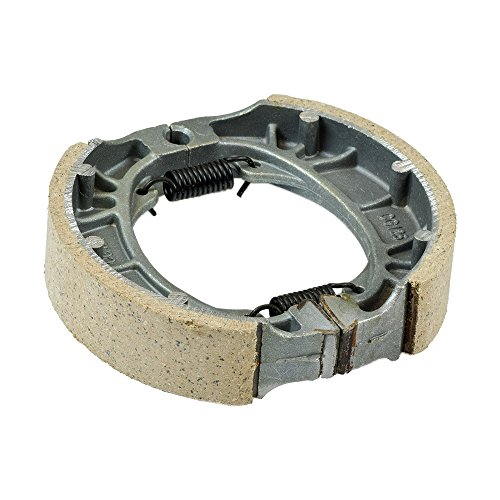 Monster Motion 105 mm Brake Drum Shoe Set with Springs for the Baja MB165 & MB200, 49cc, 50cc, Moped, Scooter, Taotao, Peace, Roketa, NST Brand change to:Monster Motion