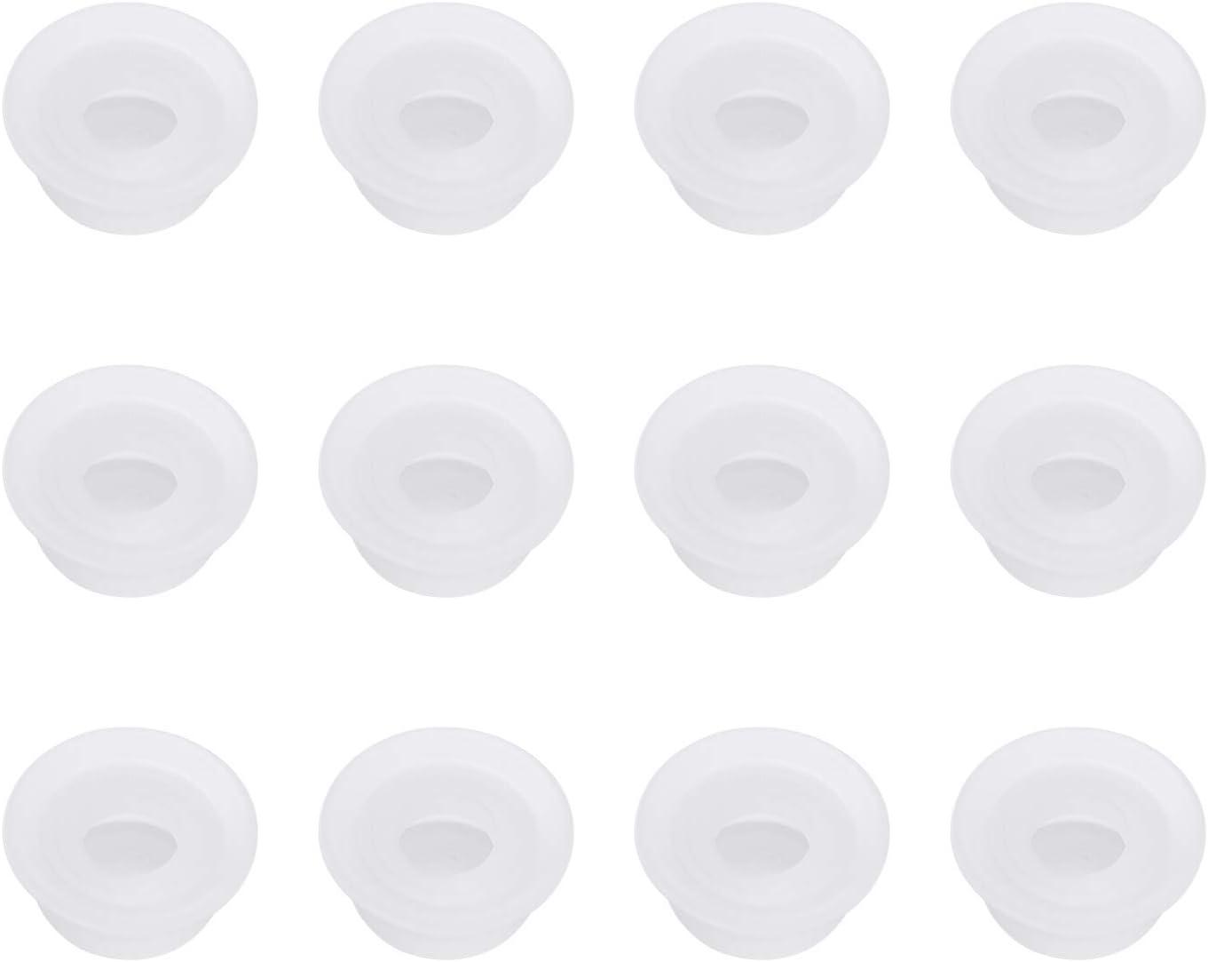 12 Pcs Instapot Replacement Float Valve Gaskets - Float Valve Sealer for Instant Pot Duo 3, 5, 6, 8 Qt, Duo Plus, Ultra, LUX 3, 8 Qt, Float Sealing Caps Float Valve Silicone Caps