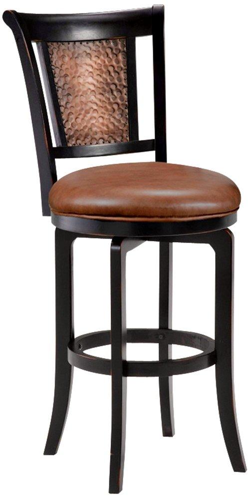 Amazon.com Hillsdale Furniture Cecily Swivel Bar Stool Black/Honey Finish Kitchen u0026 Dining  sc 1 st  Amazon.com & Amazon.com: Hillsdale Furniture Cecily Swivel Bar Stool Black ... islam-shia.org