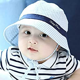 Marca west Unisex Baby Kid Child Toddler Boy Girl Infant Sun Protection Bucket Cap Hat