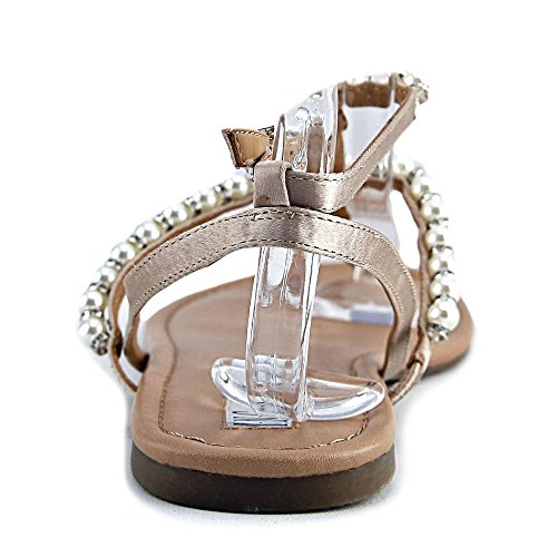 Piso Linaa Concepts Mujeres Sandalias Punta Abierta International Pearl INC Casual de Gold pxHnXE7