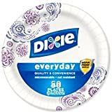 Dixie Heavy Duty Paper Plates (6.875 inch 50 count) by Dixie