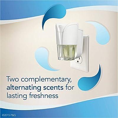Febreze NOTICEables Eliminates Odors Linen & Sky Scented Oil Air Freshener Kit