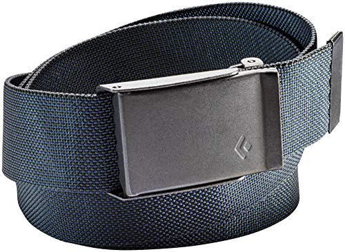 Black Diamond Unisex Forge Belt Black/Denim One ()