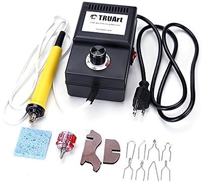(STAGE 1) 25W Wire Tips Wood Burning Kit Adjustable Burner Machine Set by SMS Neighbors LLC