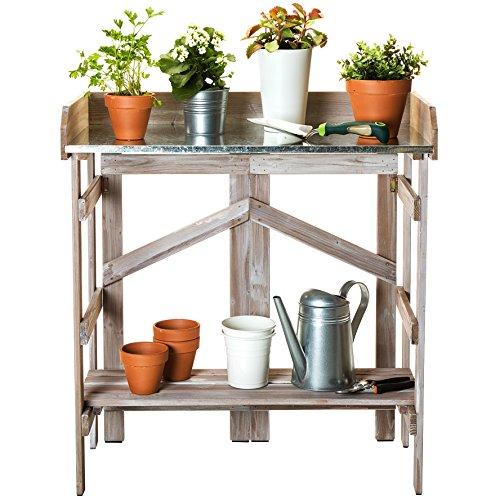 Cedar Garden Potting Bench - 8