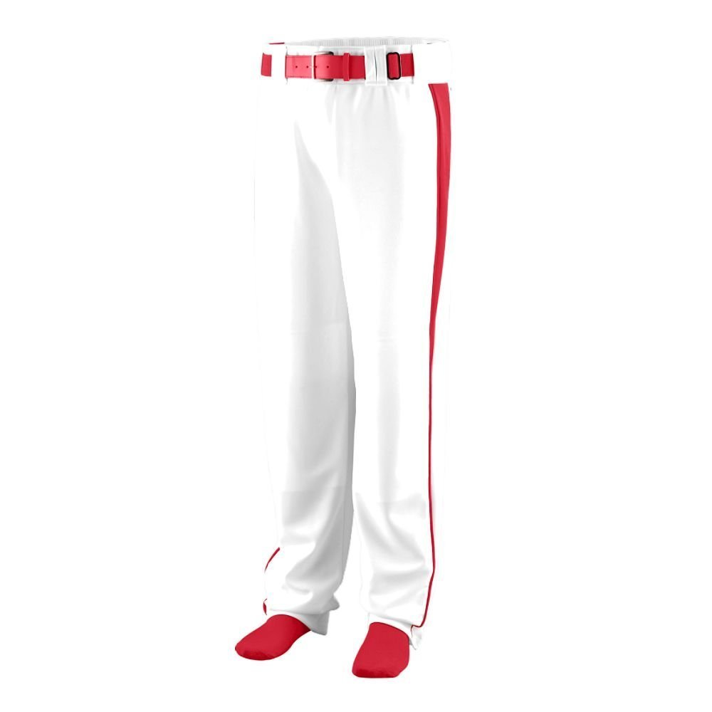 Augusta Sportswear Boys ' Triple Play Baseball Pant B00HJTP1AE Small|ホワイト/レッド ホワイト/レッド Small
