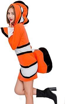hengGuKeJiYo Disfraz de Anime Nemo Disfraz de Mujer Adulta Cosplay ...