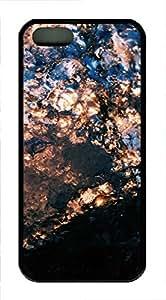 iPhone 5 5S Case landscapes nature 6 TPU Custom iPhone 5 5S Case Cover Black
