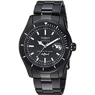 Men's 'Pro Diver' Quartz Stainless Steel Casual Watch, Color:Black (Model: 25818)