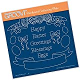 Groovi Embossing A5 Plate ~ Easter Banners, GRO40549