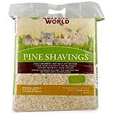 Living World Pine Shavings, 2500-Cubic-Inch