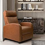 Homall Recliner Chair Padded Seat PU Leather for