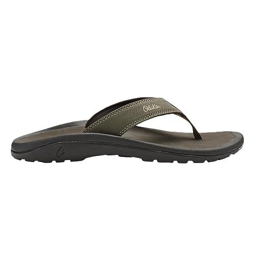 2c585f81e7ea OLUKAI  Ohana Sandal - Men s Kona Kona 14  Amazon.co.uk  Shoes   Bags