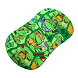 SheetWorld Fitted Bassinet Sheet (Fits Halo Bassinet Swivel Sleeper) - Ninja Turtles - Made In USA Image
