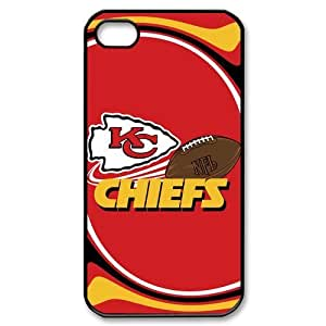 NFL Kansas City Chiefs IPhone 4 4S Hard Case Cover With Slim Styles KC Chiefs