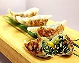 Kale & Vegetable Dumpling - Gourmet Frozen Vegetarian Appetizers (35 Piece Tray)