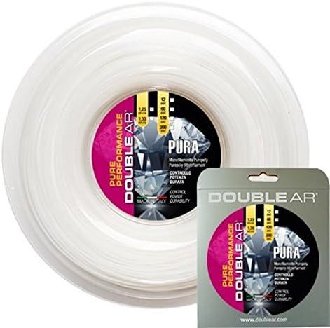 Mono-filament co-poliestere 1.19/mm /Corde de Tennis Diablo 19 Double AR/