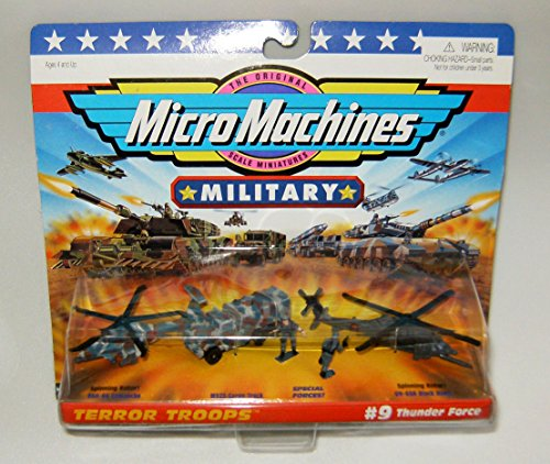 Micro Machines Thunder Force #9 Military Collection for sale  Delivered anywhere in USA