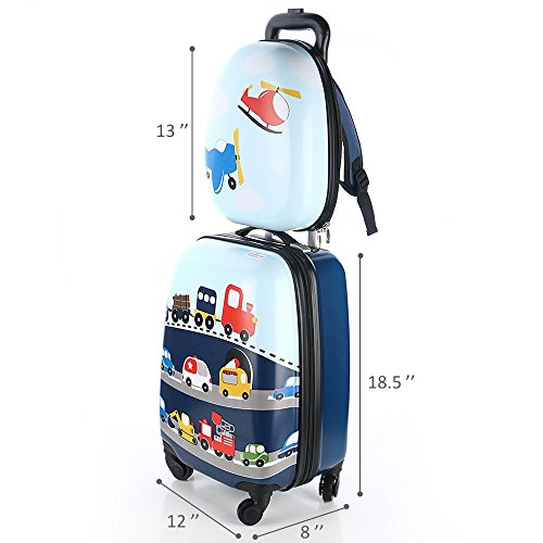 Kids Luggage & Backpack Set - iPlay, iLearn 16