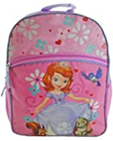 """Disney Girls Little Princess Sofia the First 16"""" Backpack Pink"""