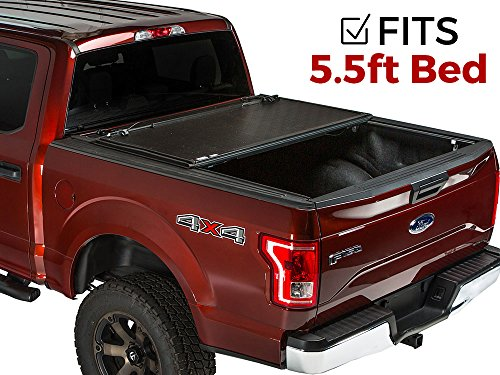 7. GATOR EVO Hard Folding Bi-Fold Tonneau Truck Bed Cover (GC45007)
