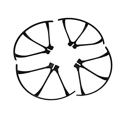 4Pcs Propeller Protector Protective Guard for MJX B3 Bugs 3 Quadcopter Black Other RC Parts & Accessories