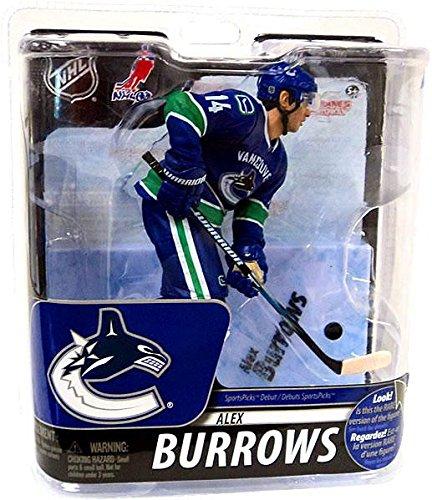 McFarlane Toys NHL Vancouver Canucks 2011 Series 29 Alex Burrows Action Figure