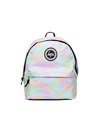 Hype Backpack Bag - Pastel Camo Rucksack - Bags   Backpacks For Boys and  Girls Women and Men - Pastel Camo  Amazon.co.uk  Luggage 567c1a9808904