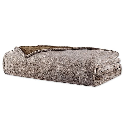 woolrich-heathered-plush-full-queen-blanket-in-brown