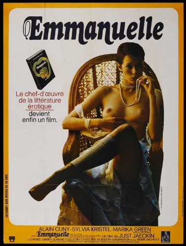 Emmanuelle Poster Movie French  In 28cm X 43cm Sylvia Kristel Alain Cuny