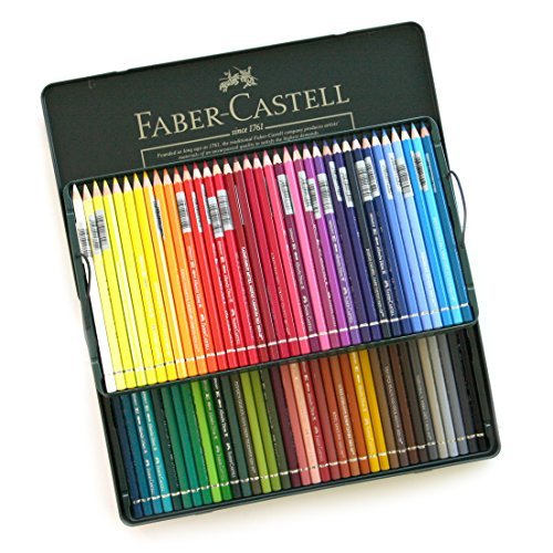 Faber Castell water Color Colour Artists Pencils Albrecht Dürer Metal Tin Set of 72 by Faber Castell