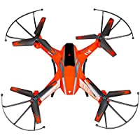 Owill YD- A8 4CH 6-Axis Gyro 0.3MP Camera RC Quadcopter 360 Flips Aircraft Drone/Kids Great Toy (Orange)