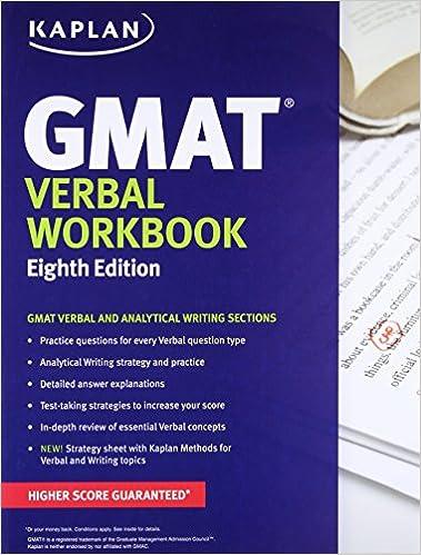 Kaplan gmat verbal workbook kaplan test prep kaplan test prep kaplan gmat verbal workbook kaplan test prep kaplan test prep 8601422066579 amazon books fandeluxe Images