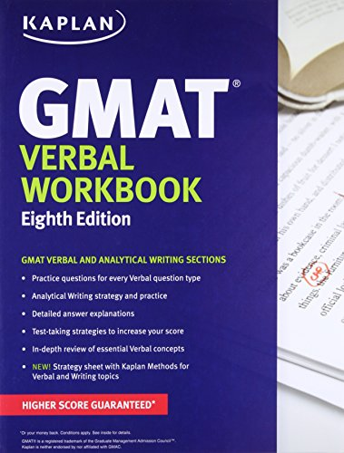 Kaplan GMAT Verbal Workbook (Kaplan Test Prep)