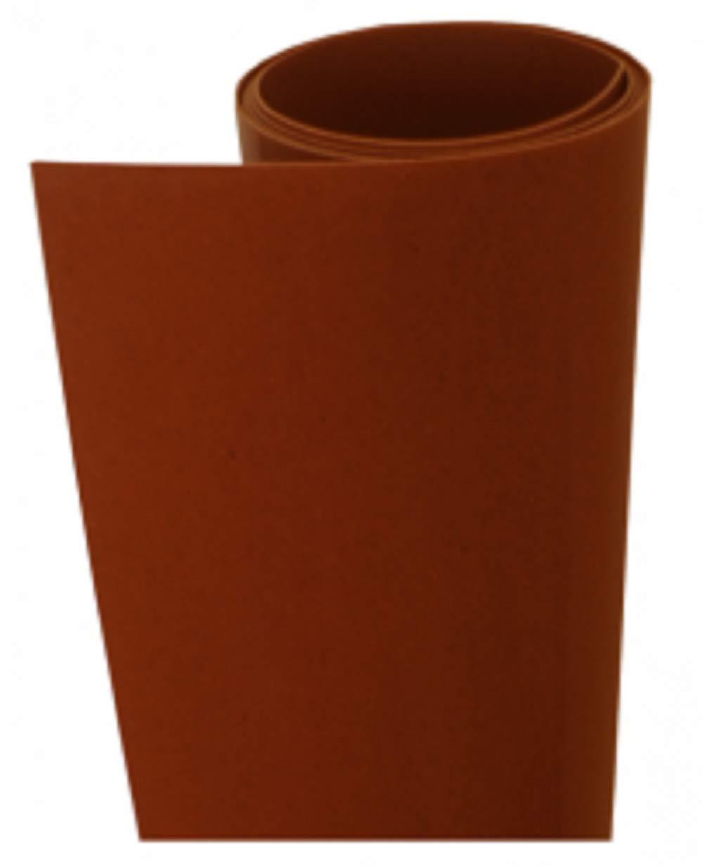 Foglio Worbla termoplastico - FLAME RED ART Misure diverse (37, 5 X 25 CM)