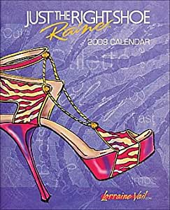 Just the Right Shoe 2009 Hardcover Engagement Planner Diary