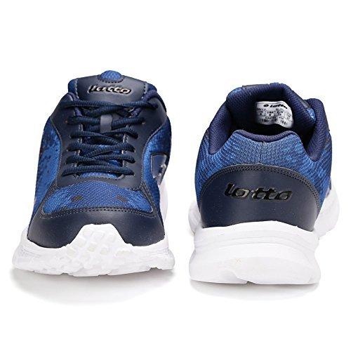Lotto Men's Portlane Subli Navy and Grey Running Shoes - 7 UK/India (41 EU) DTGohiA