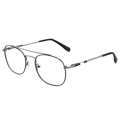 74e909829ae5 OCCI CHIARI Stylish Clear Lens Men Women Glasses Samll Circle Avaitor Frame