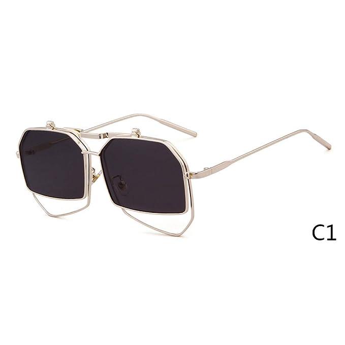 Amazon.com: ZRTYJ - Gafas de sol para mujer, diseño con clip ...